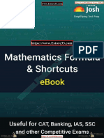 Mathematics Formula and Shortcuts eBook-jagran Josh [Www.estore33.Com]