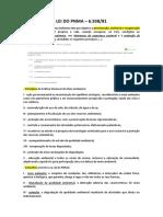 Direito Ambiental - Lei Do Pnma