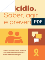 Suicídio_Saber, Agir, Prevenir