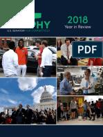 Senator Chris Murphy's 2018 End of Year Report