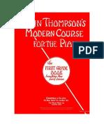 John Thompson's Modern Course Fot the Piano