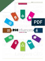 The ROI-NJ Influencers Power List 2018