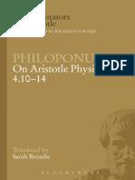 Philoponus - on Aristotle Physics 4.10-14