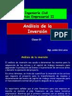 Clase 1 Analisis de La Inversion PDF (1)
