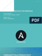 Ansible Best Practices