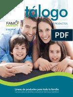 Catálogo Famo 2018