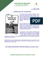 Reporte Diario 24 07 09