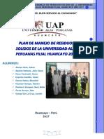 Plan de Manejo Uap