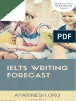 IELTS Writing Forecast