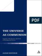 Nesteruk, Alexei V.-The Universe as Communion_ Towards a Neo-Patristic Synthesis of Theology and Science-T & T Clark (2011)