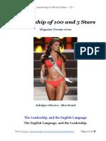 Leadership - 100and5Stars - Theme 27