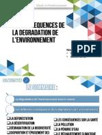 La Présentation de a Dégradation de l'Environnement