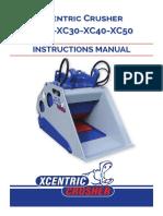 Manual Xcentric Crusher