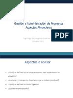 Aspectos Financieros Proyectos-2018