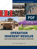 Operation Inherent Resolve IG Report