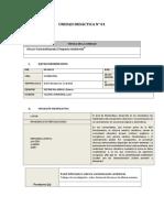 Planificación de La Unidad Didáctica - Matematica 5