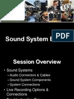 Basics of Live Sound