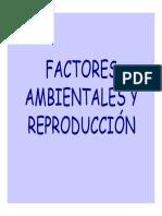 Influencias Ambientales y Reproducción
