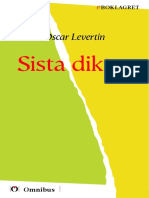 Oscar Leve1907, Senaste Tryckta Utgåva 1927, 112 s. ]