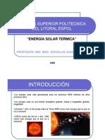 (Capt 2) Energía Térmica