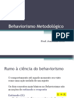 Slides Behaviorismo Parte 1