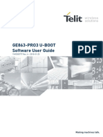 Telit GE863-PRO3 U BOOT Software User Guide r6(1)