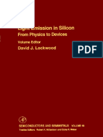 Light Emission in Silicon From Physics to Devices-Academic Press