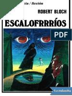 Escalofrrrios - Robert Bloch