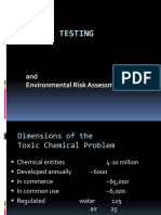 Toxicity Testing1