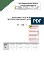 PT-1609-10 Procedimiento Montaje Tableros Electricios e Instrumental Rev 20-06-13 (2)