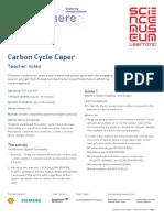 Carbon Cycle Caper Teacher Notes