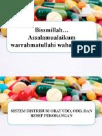 Ppt Distribusi Obat Udd, Odd Dan Resep Perorangan