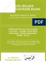 A'Uzu Billahi Minashaitanir Rajim