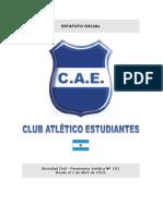 Estatuto del Club Atlético Estudiantes