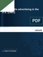 Social Media Advertising in the U.S. (DMO)