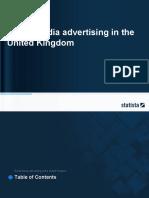 Social Media Advertising in the United Kingdom