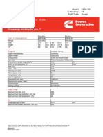 Cummins C900D5 Diesel Generator Data Sheet.pdf
