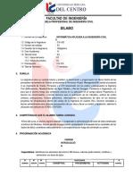 Civ 423 Infor. Aplic. a La Ing. Civil II