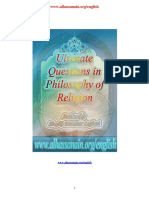 Ultimate Questions in Philosophy of Religion.