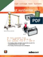 Trusa Pentru Incercari Cabluri Cu Inalta Tensiune HPG 70D