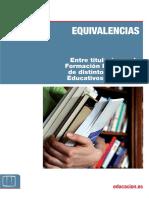 Equivalencias Entre Titulaciones Fp