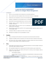 AUSTRALIA (ADA) Dental Amalgam Waste Management