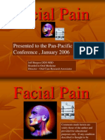 Facial Pain Lecture to Pan Pacific Surgical Congress January 15, 2006, Honolulu, Hawaii