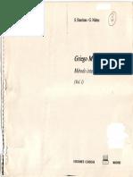 Griego Moderno, Autodidacta, y Solución-Stanitsas 1992