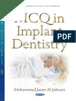 MCQ Implant Dentistry
