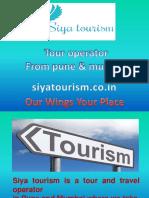 Siya Tourism PPT