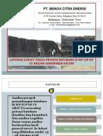 Laporan  Mapping IUP OP  CV Arjuna Kota Samarinda