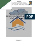 Conceptie Nationala Inundatii AVIZATA