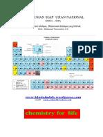 Rangkuman Kimia Siap Un 2013