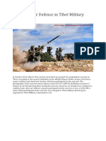 PLA Air Defence in Tibet
